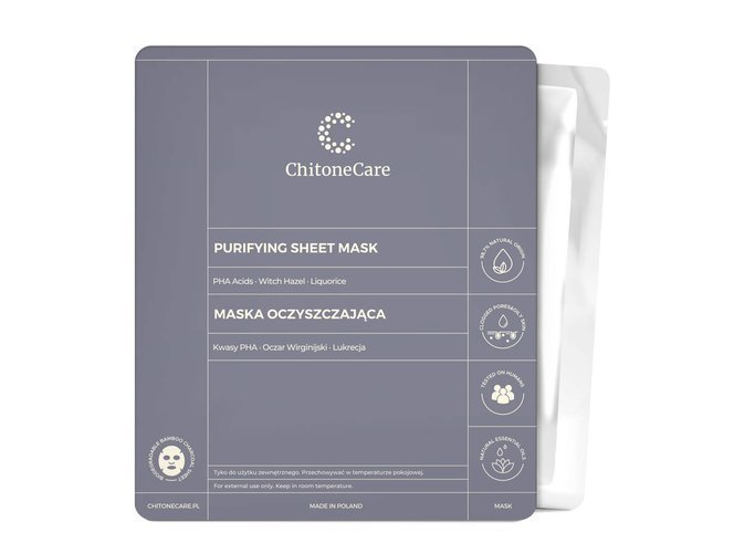 Maska Oczyszczająca/Purifying Sheet Mask 23ml